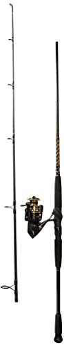 Steel Reel Penn (Penn Battle II 5000 Spinning Reel Combo, Surf, 8 Feet, Medium Power)