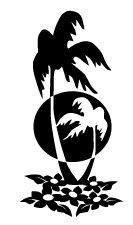 (Inbloom Stickers PALM TREE)