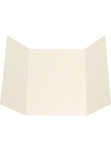 5x7 A7 Gatefold Invitation - Natural Linen (10Qty.)