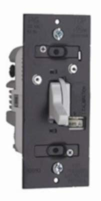Pass & Seymour TDCL453PWCCV6 WHT CFL/LED TOG Dimmer - Quantity 1 ()