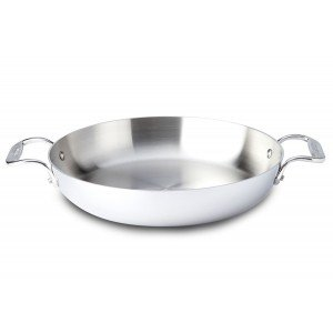 All-Clad d5 Stainless Steel 4-Quart Soup Pot with (All Clad 4 Quart Casserole)