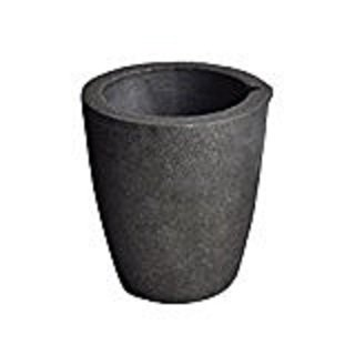 #3 4KG Foundry Clay Graphite Crucibles Cup Furnace Torch Melting Casting (Use Furnace)