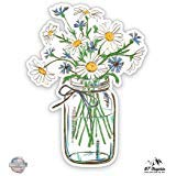 (Daisies in Mason Jar - 3