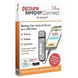 Picture Keeper Portable Flash Drive Photo Backup USB Drive 16GB Android Compatible