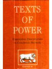 Texts of Power : Emerging Disciplines in Colonial Bengal, , 8185604169