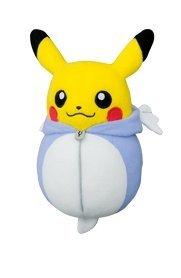 Pokemon Plush Pikachu Nebukuro Dratini Sleeping Bag 6.3''H
