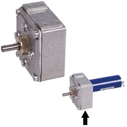 Gearbox GE/I i=90:1 matching with motors 43040100 43040300 43040500