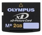 Olympus C-5000 Digital Camera Memory Card 2GB xD-Picture Card (M+ Type)