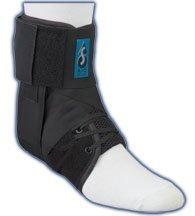 MedSpec EVO Speed Lacer Ankle Stabilizer (Black, Large)