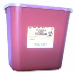 McKesson Multi Purpose Sharps Container Medi-Pak 2-Piece 2 Gallon