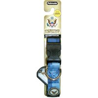 Petmate America's Legacy Camo Collar, Blue Navy, 1-Inch By 16-26-Inch