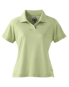 Adidas Golf A09 ClimaCool Ladies Mesh Polo - Apple/White - XX-Large Ladies Climacool Mesh Polo
