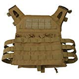 SUN FLOWER TOOLS Tactical CS Field Vest Outdoor Training Airsoft Protective Vest for Adults Adjustable Mud