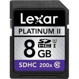 Lexar Platinum II 8GB Secure Digital High-Capacity  Flash Ca