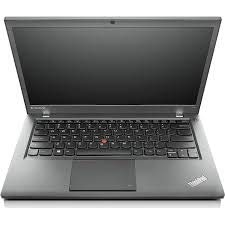 (Renewed) Lenovo T440 14.1-inch Laptop (4th Gen Core I5 4300U/8GB/256GB SSD/Window 7 Pro 64 Bit/Integrated Graphics), Black