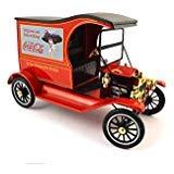 Ford Van Models - 1917 Ford Model T Cargo Van Coca-Cola Drink Delicious 1/18 Diecast Model Car by Motorcity Classics 449804