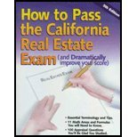 How to Pass the California Real Estate Exam, Huber, Walter Roy, 091677287X