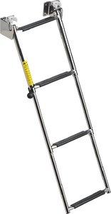 Garelick Ladder-telescop Transom 4-step (Step Transom Ladder)