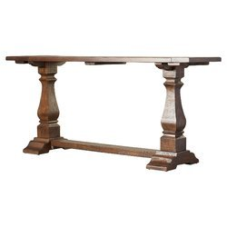 Atop Drawer Wood Console Table - 8