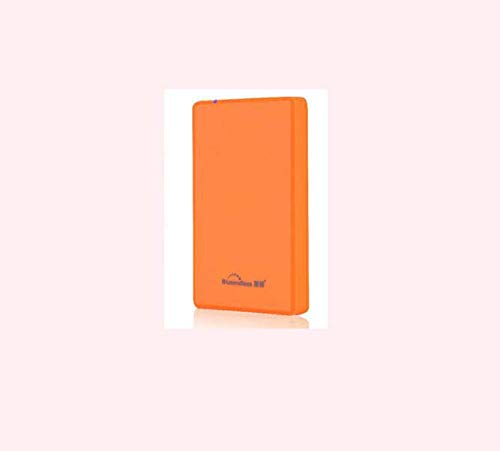 CE-LXYYD A8 2.5-inch Mobile Hard Disk USB3.0 high-Speed Mobile Disk Compatible with Mac, Windows, LINUXC, Smart TV Android System,Orange,1TB