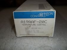 Johnson Controls A19AAF-20C Remote Bulb Temp Control, 6