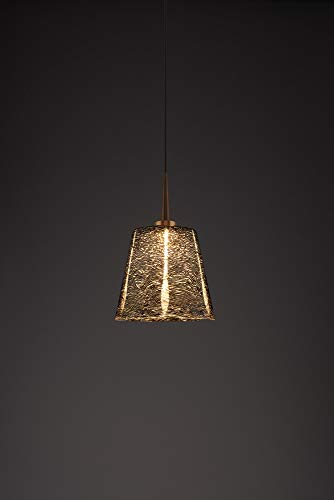 (Bruck Lighting 223840bz/MP Bling 1 LED Pendant with 4