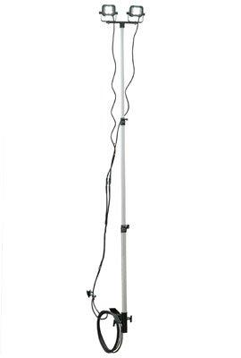 LED Work Light - Trailer Hitch Bracket Mount - 2 12 Watt LEDs - Extends 3-8.5 Feet - 1440 Lumen by Larson Electronics (Image #1)