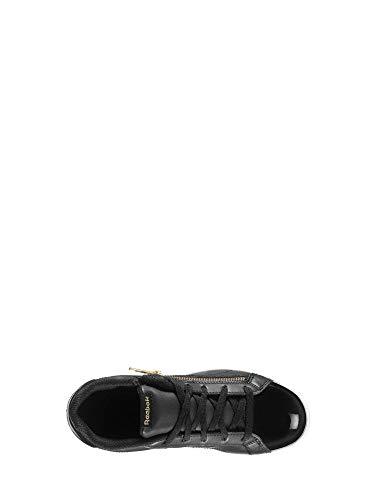 zip Multicolor black gold 000 Reebok Tenis Cln Complete Para Mujer De Royal Zapatillas xpfR1F