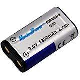 MaximalPower Digital Camera Battery (Silver) for Kodak Nikon Casio Olympus Samsung Benq CR-V3 LB01 LB-01