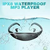 Tayogo 2015 actualizado impermeable Mp3 reproductor de música, 8 GB de memoria Hi-Fi Stero,...