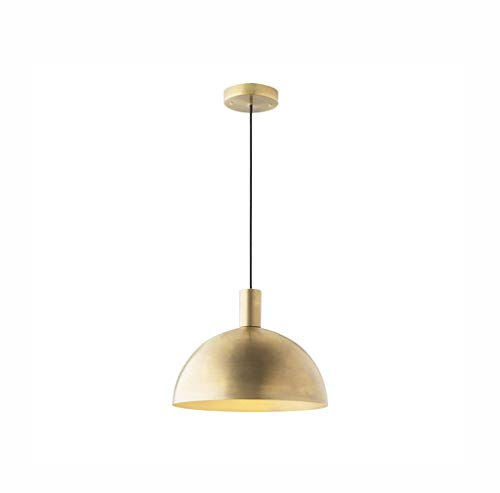 - DEED Simple Modern Personality Lamps,All-Copper Pendant Lamp Study Brass Pendant Creative Bar Counter Restaurant Semi-Circular Chandelier Creative Fixtures Stage Decorative Lights