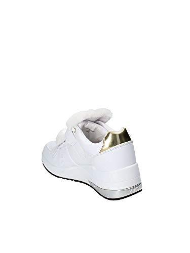 Blanco Zapatos Fal12 Guess Fljia4 Mujeres q4nAI0xUw
