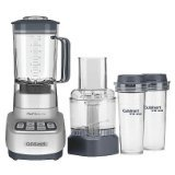 Cuisinart Velocity Ultra Trio 56-Oz. Countertop Blender and Food Processor Silver BFP-650