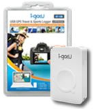 i-gotU GT-120 USB GPS Travel Logger w/Blog Software - Record and Trace outdoor activity on 3D