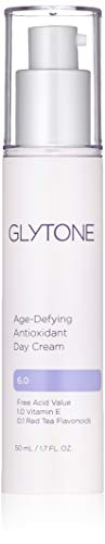 Glytone Age-Defying Antioxidant Day Cream with Vitamin E, Glycolic Acid & Hyaluronic Acid to Hydrate, Renew and Reduce Signs of Aging, 1.7 oz.