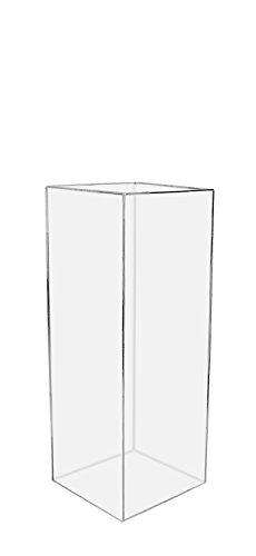 Marketing Holders Acrylic Display Cube Pedestal Art Sculpture Stand 12