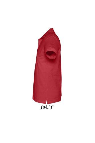 Sols - Spirit - Herren Poloshirt Kurzarm aus schwerem Piqué , Red , XXL