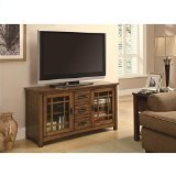Coaster Home Furnishings Contemporary Tv Console, Oak and Espresso