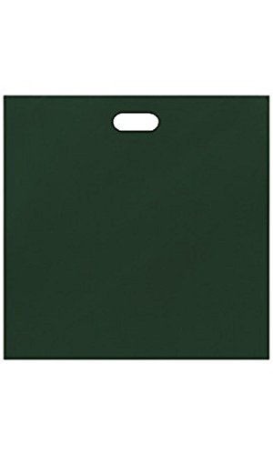 Jumbo Low Density Dark Green Merchandise Bags - Case of 500 by STORE001