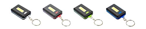 SE Assorted Color 160 Lumens COB LED Keychain Lights (4 PC.) - FL3824-24-4