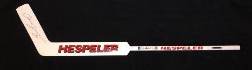 Autographed Chris Osgood Stick Junior Size Goalie Autographed NHL Sticks