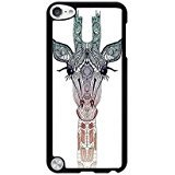 Generic Cute Giraffe Pattern Hard Case for IPod Touch 5th (Cute Easy Costumes)