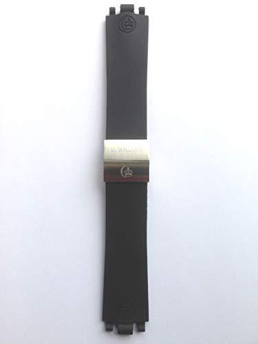 L. Bruat – LB45-reservarmarmband, svart,