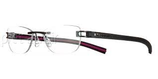 Tag Heuer Track S Rimless 7646 010 Eyeglasses Prescription Black - Rimless Glasses Tag