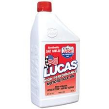 Lucas Oil High Performance Synthetic Oil - 10W30 - 1qt. 10708