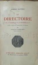 Le Directoire par Albert Mathiez