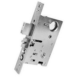 Baldwin 6301102LRLS Oil Rubbed Bronze Left Handed Reverse Bevel Lever Strength Entrance and Apartment Mortise Lock with 2-1/2'' Backset