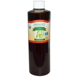 Frontier Natural Products, Organic, Vanilla Extract, 16 fl oz (472 ml) by Frontier