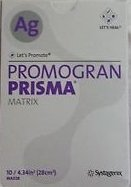 Gel Conformable Wound Dressing - Box of 10 PROMOGRAN PRISMA Matrix 4.34 Sq inches JOHNSON & JOHNSON MA028 JNJMA028 Box