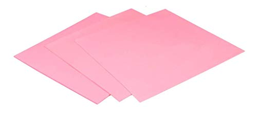 ARCTIC Thermal Pad Basic (100 x 100 mm, t: 0.5 mm) Pack of 4 - High Performance Gap Filler, Safe Handling, Non-Stick and can be easily removed and repositioned, Easy to Apply, Material: APT2012 - Pink